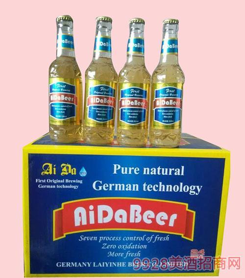 艾达精品啤酒330mlX24箱装啤酒