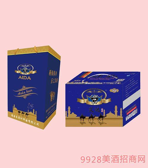 艾达全麦啤酒500mlX12箱装