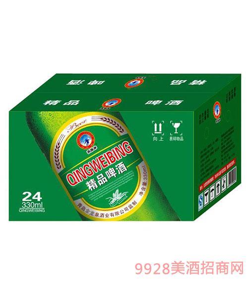 精品啤酒330mlx24