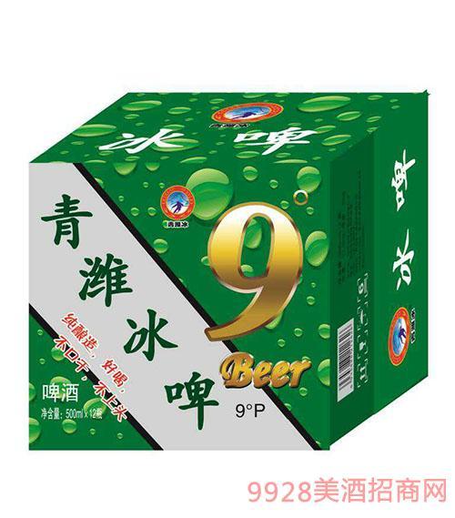 青潍冰啤酒9度500mlx12