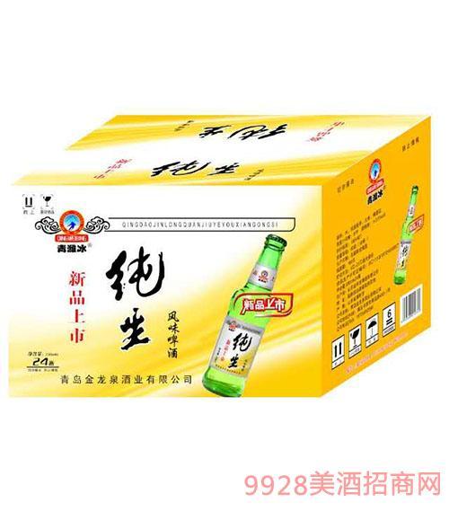 新品上市纯生风味啤酒330mlx24