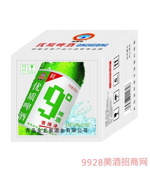 优质9度青潍冰啤酒500mlx12