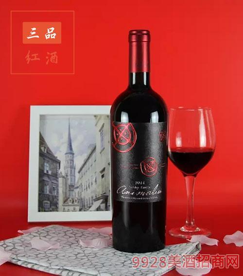 智利活灵魂酒庄干红葡萄酒