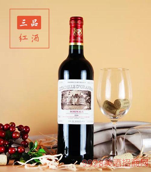 法国古枫酒庄干红葡萄酒
