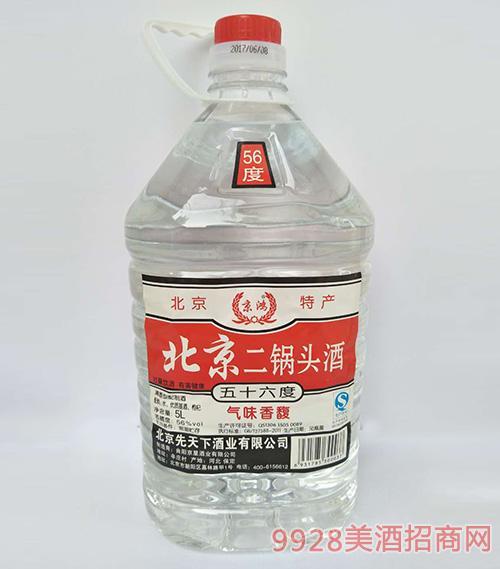 京辉北京二锅头酒56度5L