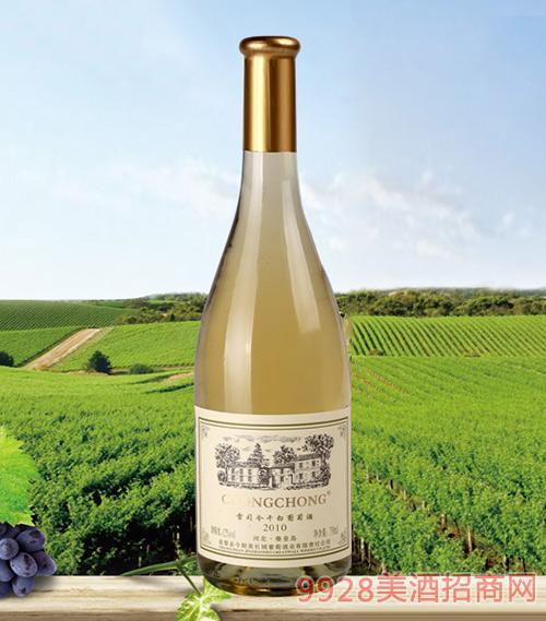 CHONGCHONG雷司令干白葡萄酒2010