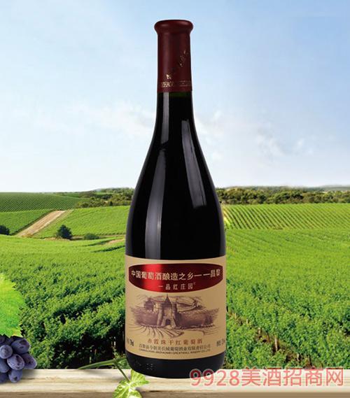 一品红庄园赤霞珠干红葡萄酒