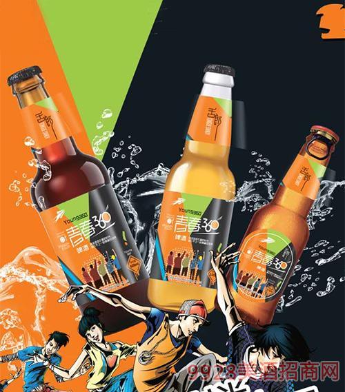 舌郎青春360啤酒瓶装