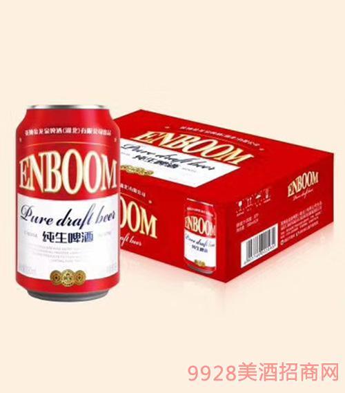 英寶純生易拉罐啤酒330mlx24