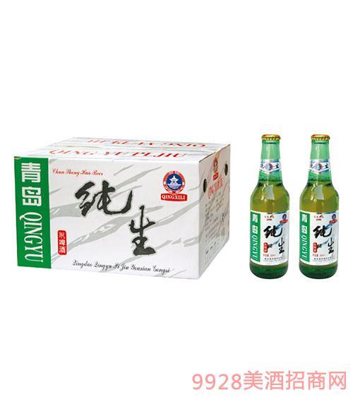 青雨纯生啤酒