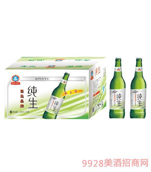 青雨新纯生啤酒