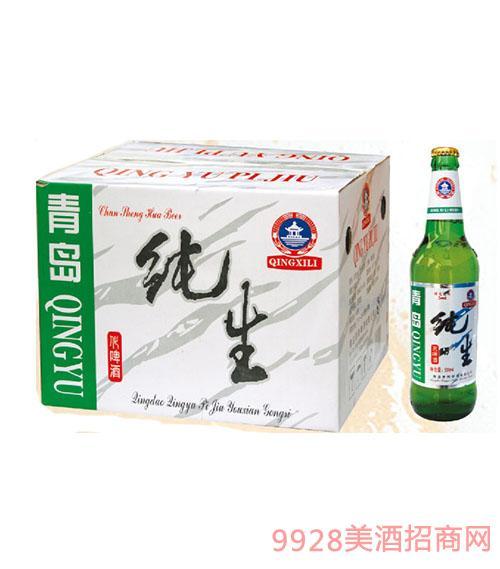 青雨500ml老纯生啤酒