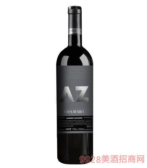 艾樽608赤霞珠梅洛红葡萄酒2016