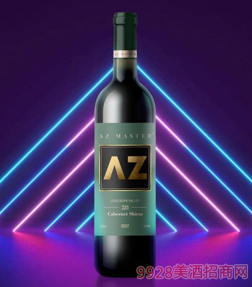 艾樽320赤霞珠西拉子葡萄酒2017
