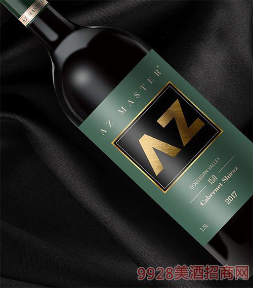 艾樽150赤霞珠西拉子葡萄酒2017