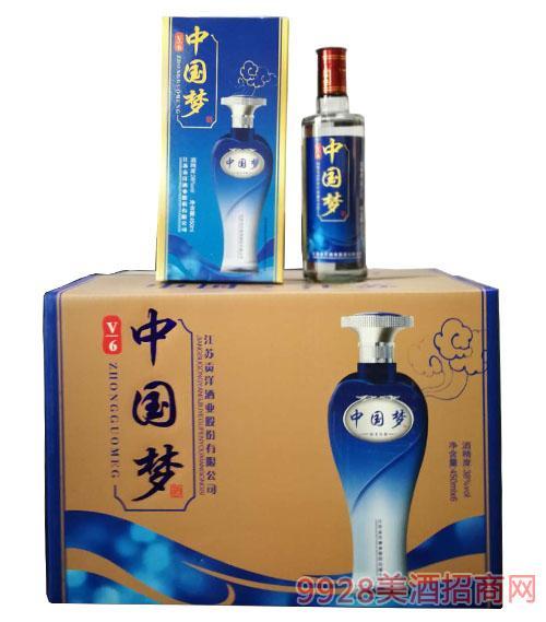 洋河鎮中國夢酒(藍瓶)38度450ml