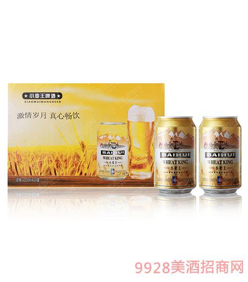百惠小麦王啤酒330mlx24