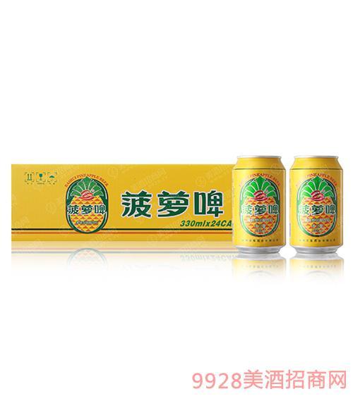 百惠菠萝啤330mlx24