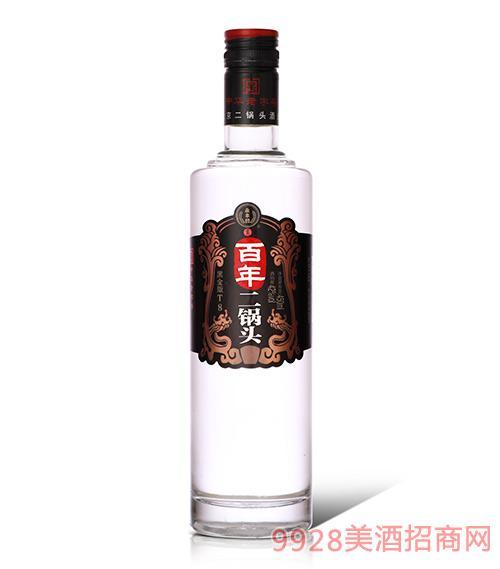 永�S牌北京二��^(百年T8)42度450ml