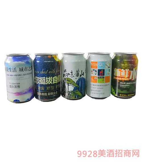 百惠定制啤酒-广告罐