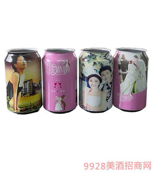 百惠结婚定制酒-纪念罐