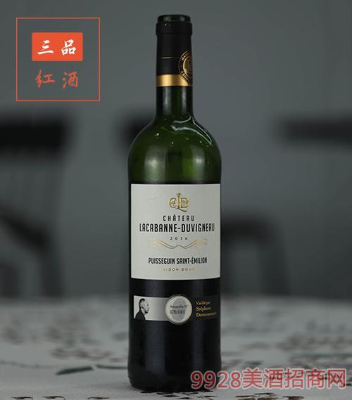 法國波爾多拉貝古堡限量版紅葡萄酒