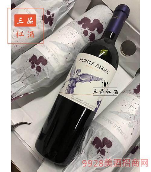 蒙特斯酒庄紫天使红葡萄酒