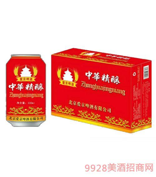 爱京啤酒精酿红罐