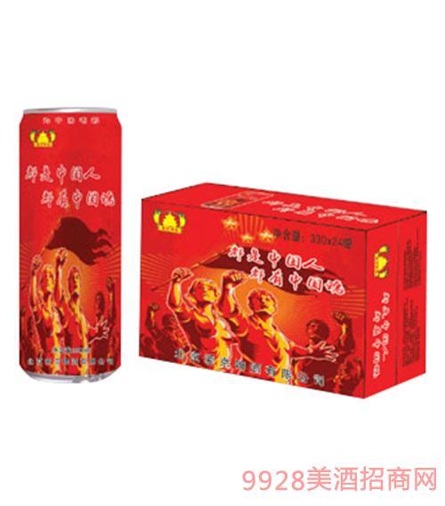 爱京啤酒中国魂细高罐