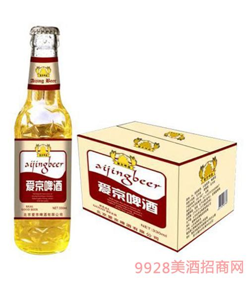 爱京啤酒330mlx24(瓶装)