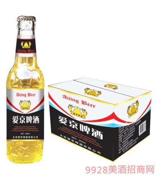 爱京啤酒330mlx24瓶装