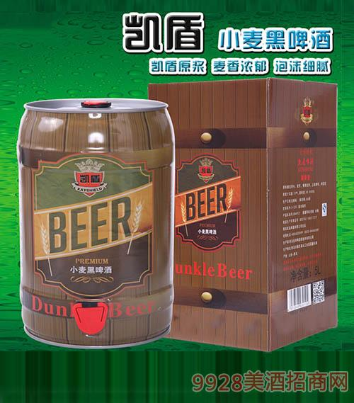 凯盾小麦黑啤酒5L
