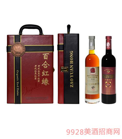 枣缘红酒系列产品之礼盒