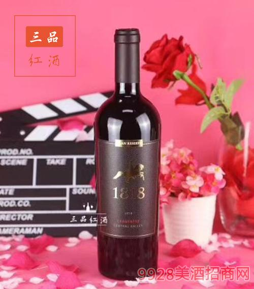 爱尔基酒庄特级珍藏佳美娜干红葡萄酒