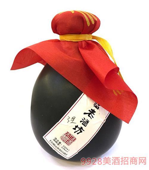 �R仙老酒坊酒三星52度500ml