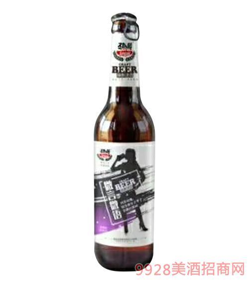 微言微�Z精�啤酒(紫)496ml