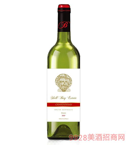 贝壳湾精选级霞多丽干白葡萄酒
