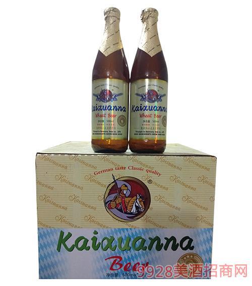 凯旋纳小麦原浆啤酒500ml箱装