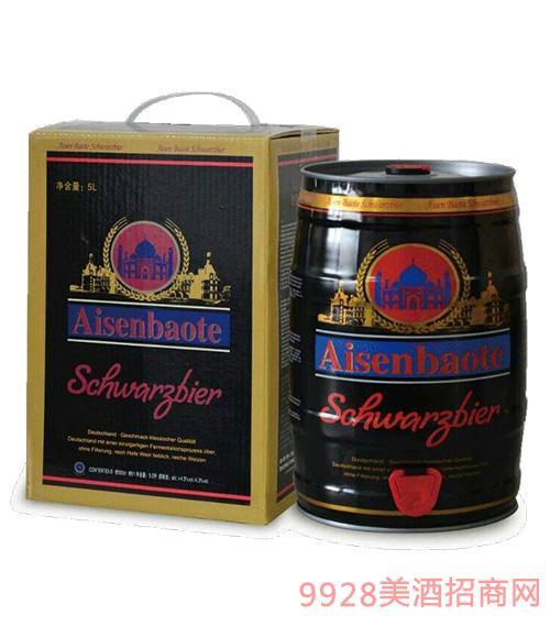 爱森堡特啤酒黑啤酒5L
