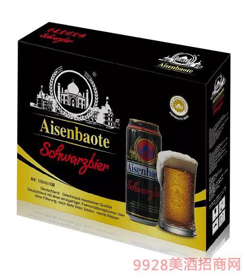 爱森堡特黑啤酒箱装500mlx10