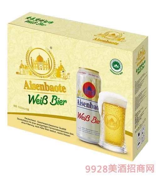 爱森堡特白啤酒箱装500mlx10