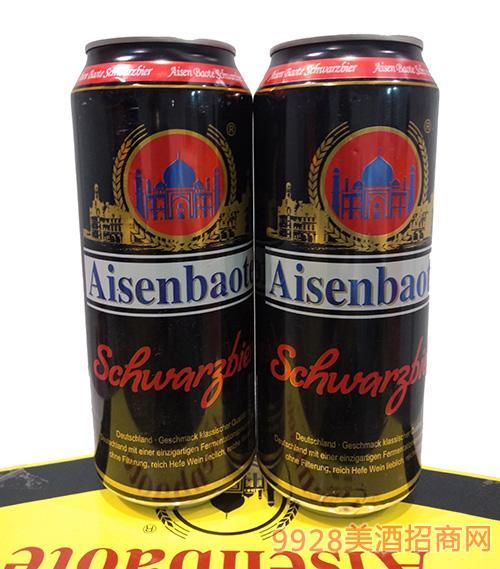 爱森堡特啤酒黑罐