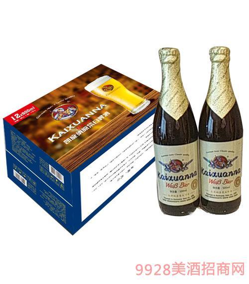 凯旋纳精酿白啤酒500mlx12