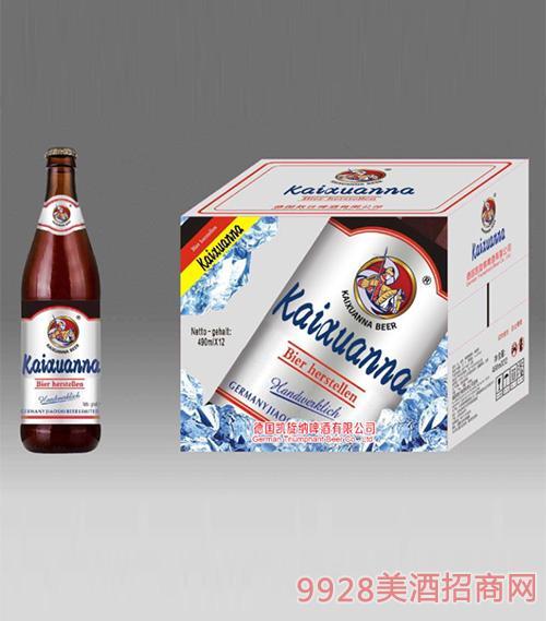 凯旋纳精酿白啤酒490mlx12