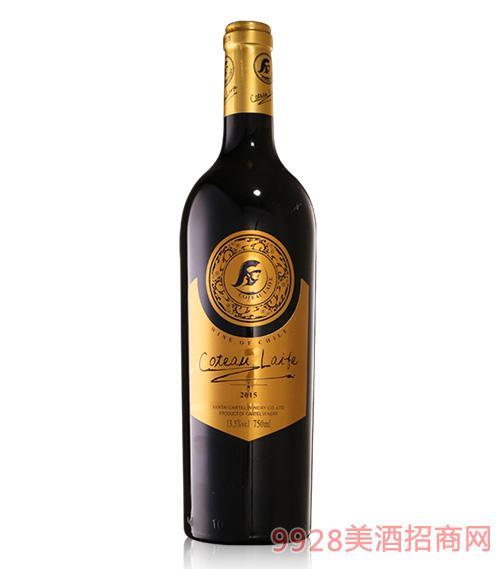 歌图人生玛茹干红葡萄酒2015-13.5度750ml