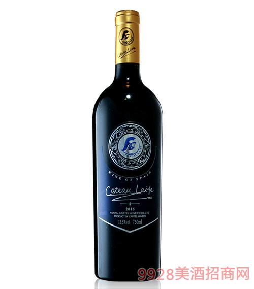 歌图人生玛依干红葡萄酒2016-13.5度750ml