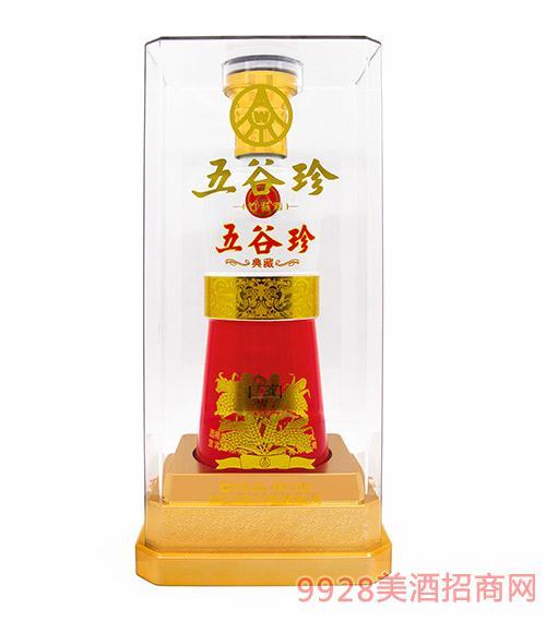 五谷珍竹�p酒典藏52度500ml
