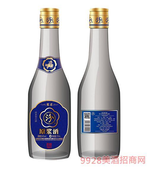 蓝柔汾原浆酒42度375ml