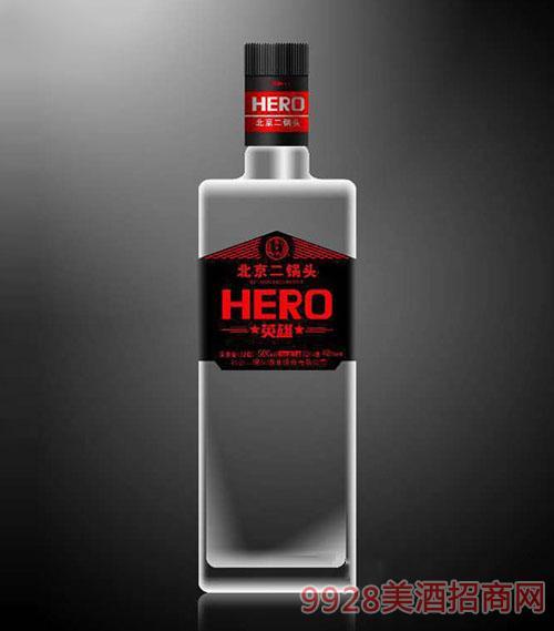 黑方英雄北京二锅头酒(效果图)