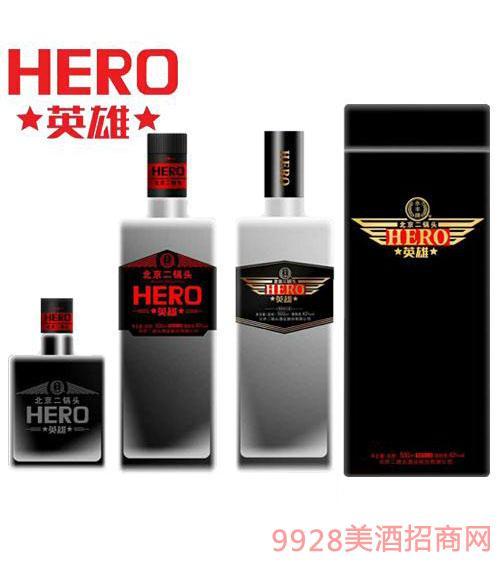 黑方英雄北京二锅头